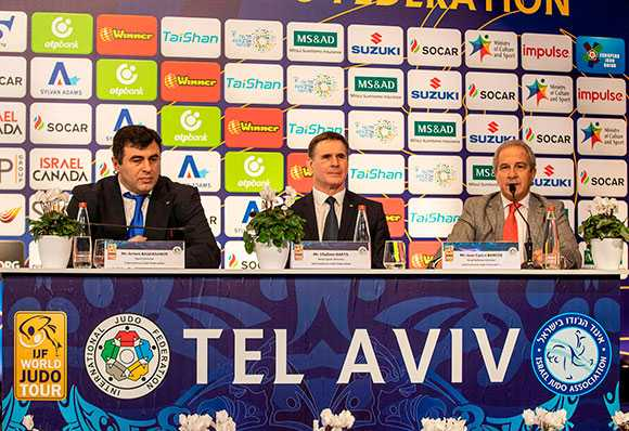 Tel Aviv Grand Prix Official Draw Serious Business AIPS